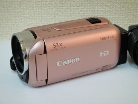canon ivis hf r42