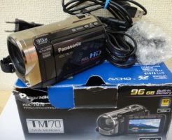 panasonic-HDC-TM70データ復元