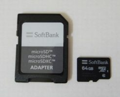 softbank microSDXC 64GB